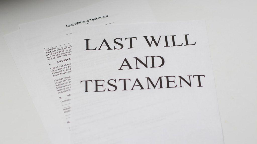 Qué hacer ante alguien que muere sin hacer testamento